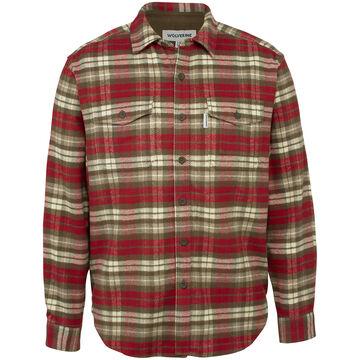 Wolverine Mens Blake Flannel Long-Sleeve Shirt