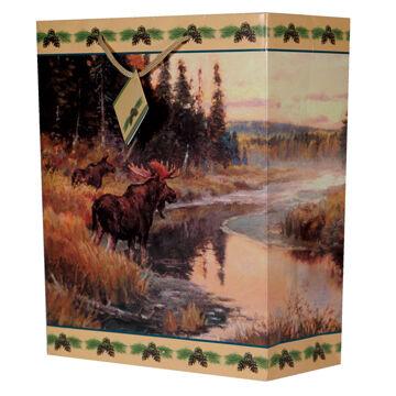 Rivers Edge Moose Gift Bag | Kittery