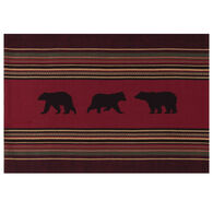 Kay Dee Designs Woodland Bear Woven Printed Placemat
