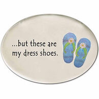 August Ceramic Dress Shoes Magnet