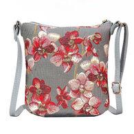 Signare Women's Orchid Sling Bag Purse Crossbody Handbag
