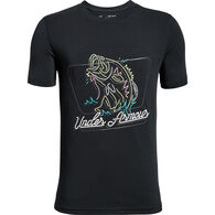 Under Armour Boys' Neon Bass Short-Sleeve T-Shirt