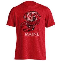 Puppie Love Men's & Women's Lab Lobster Short-Sleeve T-Shirt