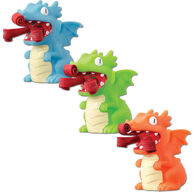 Schylling Curly Pop Dragon Fire Breather Toy