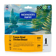 Backpacker's Pantry Freeze-Dried Cooked Chicken - 1 Serving
