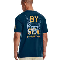 Under Armour Men's UA Freedom By Sea Graphic Short-Sleeve T-Shirt