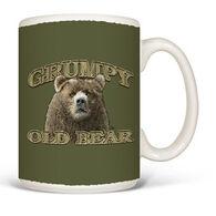 Earth Sun Moon Grumpy Old Bear Mug