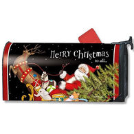 MailWraps Santas Sleigh Mailbox Cover