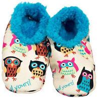 Lazy One Boys' & Girls' Night Owl Fuzzy Feet Slipper
