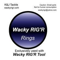 K & J Tackle Wacky Ring - 100 Pk.
