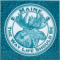 ABS Products Moose The Way Life Should Be Trivet