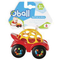Toysmith Oball Rattle & Roll