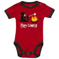 Lazy One Infant Boys' & Girls' Happy Camper Creeper