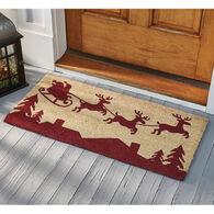 Park Designs Here Comes Santa Doormat
