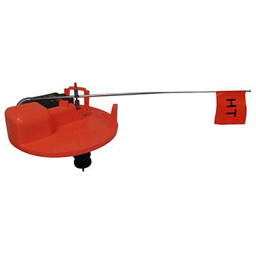 HT Enterprises Polar Therm Extreme Tip-Up w/ 200' Spool & Built-in Tackle Box