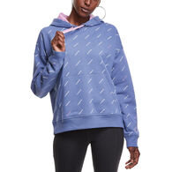 Champion Women's Powerblend Printed Relaxed Hoodie