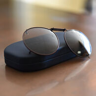 Cocoons Round 48mm Polarized Clip-On Sunglasses
