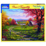 White Mountain Jigsaw Puzzle - Peace & Tranquility