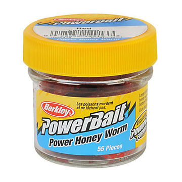 Berkley Powerbait Power Honey Worm Ice Fishing Soft Bait - 1.94 oz.