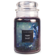 Village Candle Large Glass Jar Candle - Fairy Dust