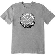 Life is Good Men's Daily Dose of Iron Crusher Short-Sleeve T-Shirt