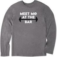 Life is Good Men's LIG Meet Me At The Bar Cool Tee Long-Sleeve T-Shirt