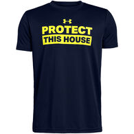 Under Armour Boys' UA Protect This House Short-Sleeve T-Shirt