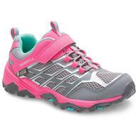 Merrell Girls' Moab FST Low A/C Waterproof Sneaker/Hiking Shoe