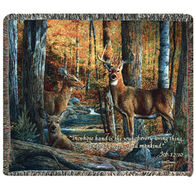 Manual Woodworkers Broken Silence II Tapestry Throw