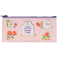 Blue Q Women's Cause of Death: Small Talk Pencil Case