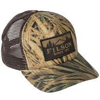 Filson Men's Mossy Oak Camo Logger Mesh Cap
