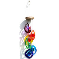 Bottle Benders Rainbow Spiral Windchime