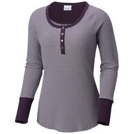 Columbia Women's Along The Gorge Thermal Henley Long-Sleeve Shirt