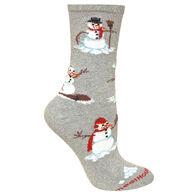 Wheel House Designs Snowmen Sock