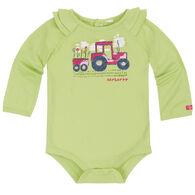 Carhartt Infant/Toddler Girls' Flower Power Tractor Bodyshirt