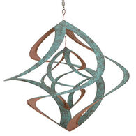 Red Carpet Studios Cosmix Double Patina & Copper Plated Wind Chime