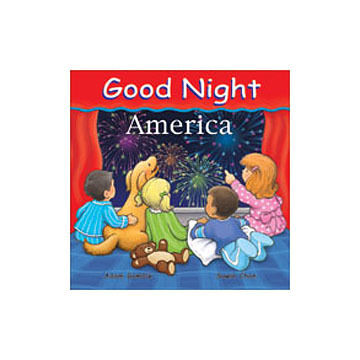 Good Night America Board Book by Adam Gamble