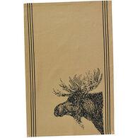 Park Designs Moose Printed Dish Towel