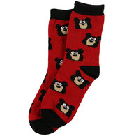 Lazy One Boy's Bear Bum Sock