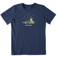 Life is Good Boy's Awesome Vintage Crusher Short-Sleeve T-Shirt