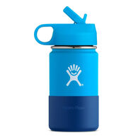 Hydro Flask Children's 12 oz. Wide Mouth Insulated Bottle w/ Straw Lid