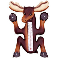 Bobbo Climbing Moose Window Thermometer