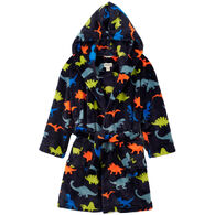 Hatley Boy's Dino Herd Fleece Robe