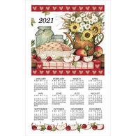 Kay Dee Designs 2021 Apple Pie Calendar Towel