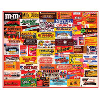 White Mountain Jigsaw Puzzle - Candy Wrappers