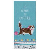 Kay Dee Designs Crazy Cat Cattitude Tea Towel
