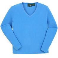 Stillwater Supply Women's Microfleece V-Neck Long-Sleeve Shirt
