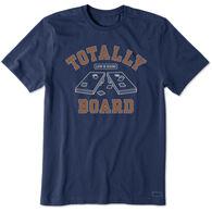 Life is Good Men's Totally Board Crusher-Lite Short-Sleeve T-Shirt