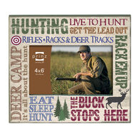 """Prinz More Than Words Hunting Picture Frame - 4"""" x 6"""""""