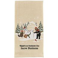 Park Designs Snow Business Dish Towel